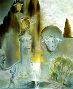 The Garden of Hours, 1981 by Salvador Dali