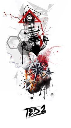 bartnik,tattoo vorla… – Ted Bartnik - Value activa Simbolos Tattoo, Rabe Tattoo, Map Tattoos, Arrow Tattoos, Body Art Tattoos, Tattoo Drawings, Girl Tattoos, Sleeve Tattoos, Anker Tattoo