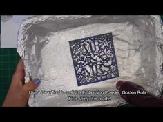 Congratulating a new married couple is made easy by the amazing Xcut Mr & Mrs cutting die. Here a stunning handmade card and shares her trick. Embossing Powder, Golden Rule, Mr Mrs, Make It Simple, Colours, Video Tutorials, Create, Cards, Handmade