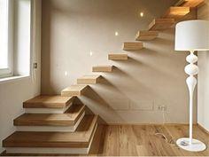 Ideas For Modern Stairs Lighting Floors Home Stairs Design, Interior Staircase, Open Staircase, Stairs Architecture, Modern Architecture, House Design, Vaulted Ceiling Lighting, Stair Lighting, Hallway Lighting