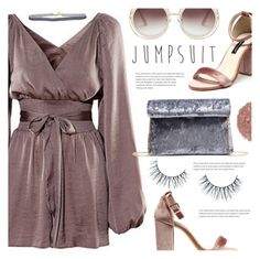 Jumpsuit by meyli-meyli on Polyvore featuring polyvore fashion style Illamasqua Unicorn Lashes clothing