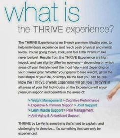 Introducing Le-Vel Thrive....