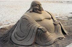 *Sculpture de sable by Toni le sculpteur
