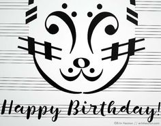 26 Best Music Faces Images Birthday Cake Card Music Birthday