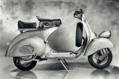 """1956 VESPA 125 """"FARO BASSO"""""""