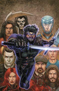Ninjak Vs. The Valiant Universe #3 Variant