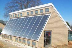 The 18' x 46' passive solar Newton-Conover greenhouse - SunCatcherGreenhouse.com
