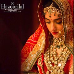 Here comes the ‪#‎Bride‬ adorned with the magic of royalty. Congratulations to the breathtaking bride Bani Jain. Enchant, Mesmerise and Captivate on your most special day with bespoke bridal jewellery from the House of ‪#‎HazoorilalBySandeepNarang‬ ‪#‎jewellery‬ ‪#‎bespoke‬ ‪#‎bridal‬ ‪#‎polki‬ ‪#‎Hazoorilal‬ ‪#‎HazoorilalBride‬