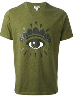 Men's KENZO 'Eye' T-shirt - Farfetch