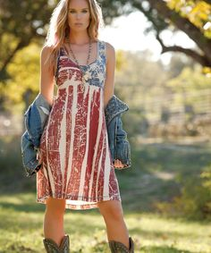 Double D Ranch Ol' Glory Dress - Dresses - Apparel Collection