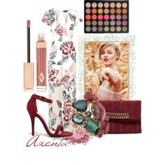 fg405 by axenta on Polyvore featuring мода, Topshop, Anne Michelle, Ramy Brook, Federica Rettore, Charlotte Tilbury, shoes, bags and axenta