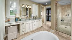 AWESOME BATHROOM  3144 Players View Circle (Fitzgerald), Longwood, FL in The Reserve At Alaqua by Calatlantic Homes | New Home Source Professional