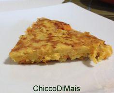 Frittata di farina di ceci con porro e zucca ricetta vegana il chicco di mais http://blog.giallozafferano.it/ilchiccodimais/frittata-di-farina-di-ceci-con-porro-e-zucca-ricetta-vegana/