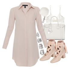 Untitled #19775 by florencia95 on Polyvore featuring polyvore, fashion, style, Xander, Yasmine eslami, Valentino, Yves Saint Laurent, Forever 21, Michael Kors and clothing