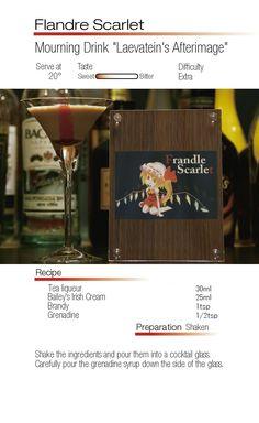 """Flandre Scarlet- Mourning Drink """"Laevaitein's Afterimage"""""""