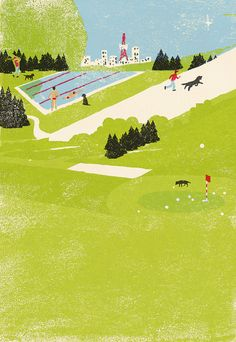 Golf Swing Tips - 10 Ideal Hints On The Way To Better Your Round Of Golf To view further for this article, visit the image link. Landscape Illustration, Illustration Art, Scenery, Artsy, Wallpaper, Drawings, Artwork, Pictures, Painting