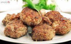 Smaczne pulpety na dzisiejszy obiad. Przygotuj je razem z nami. Do ich wykonania potrzebujesz: wątroby cielęcej, jajka, bułki tartej oraz odrobiny przypraw. Chrupiące i bardzo smaczne.