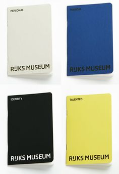 Rijksmuseum Logo and Identity by Irma Boom