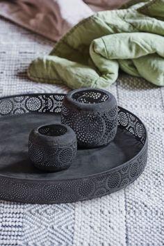 Tava metalica Atmosphere Black, Ø 40 cm Black, Design, Home Decor, Decoration Home, Black People, Room Decor, Home Interior Design, Home Decoration