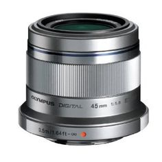 Olympus M. Zuiko Digital ED 45mm f/1.8. Steve Huff gave this a great review and is considered the missing middle lens for portrait shooting. $479