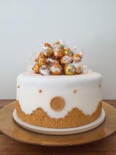 Torte zur Goldenen Hochzeit