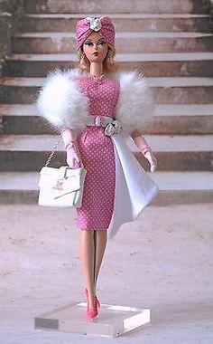 Tenue outfit Barbie silkstone ou fashion royalty doll. Modèle unique !