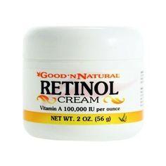 Black Friday Retinol Cream (Vitamin A Cream) IU per ounce - 2 Oz (Pack of from Good n Natural Dr Oz Anti Aging, Anti Aging Eye Cream, Best Anti Aging Creams, Anti Aging Skin Care, Vitamin A Cream, Benefits Of Vitamin A, Face Cream For Wrinkles, Retinol Cream, Best Natural Skin Care