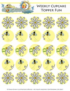 Is it me or does 100 Degrees seem a little bit much these days.I am shocked at the hot hot hot weather we have been having all week. Bottle Cap Necklace, Bottle Caps, Printable Art, Free Printables, Daisy Party, Bee Cupcakes, Cupcake Toppers Free, Bee Free, Bottle Cap Images