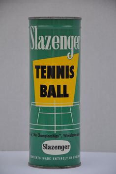 SOLD. NEW UNOPENED Vintage 1960's Slazenger Tennis by FinchAvenueVintage