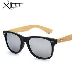 Tempio di bambù Occhiali Da Sole Uomo Donna occhiali da Sole di Legno Del Progettista di Marca Retro Legno D'epoca Occhiali Da Sole Top Quality 12 Colori UV400