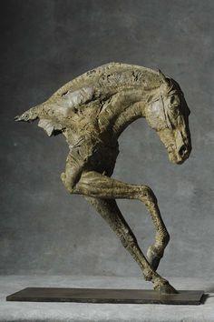 """""""Cheval III"""" 2013 55 x 36 x 20 cm"""