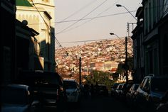 Atardecer, Valparaiso.