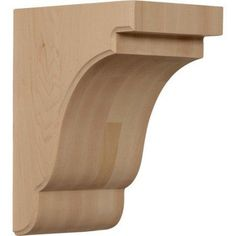 Ekena Millwork Bedford 9 1/2''H x 5 1/4''W x 7 1/4''D Bracket