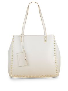 Hadley Studded Faux Leather Tote