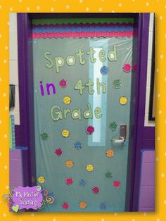 Hallway display...look who's been spotted in mrs. Graves' class!