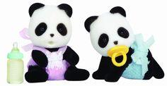 Sylvanian Families Panda Twins