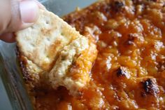Super Bowl Sunday Ready Buffalo Chicken Crack Dip - Jessiker Bakes | The Blog