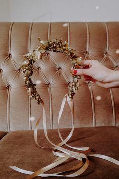 Handmade with love in Vienna. Bangles, Bracelets, Flower Crown, Headpiece, Berries, Sparkle, Winter, Hair, Handmade