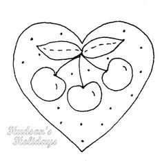 Hudson's Holidays - Designer Shirley Hudson: Freebie Friday- Cherries!
