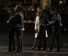 "Ginnifer, Josh, Jared, Colin, Sean and Lana - Behind the scenes - 5 * 1 "" Dark Swan"" - 17 July 2015"