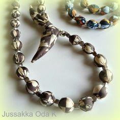 Solmix www.jussakka.fi www.facebook.com/... #koru #necles #kierrätys #käsityö #jussakka