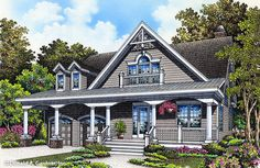 NEW PLAN! The Drexel #1365 is now available. Arches and columns line the front exterior of this unique bungalow, bringing curb appeal to any narrow lot. http://www.dongardner.com/house-plan/1365/the-drexel. #NewPlan #Bungalow #OneStory