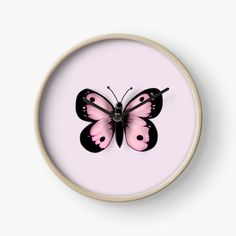 Pink Butterfly, Butterfly Design, Canvas Prints, Art Prints, Cute Pink, Mother Nature, Finding Yourself, My Arts, Clock