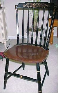 Superieur We Got This Accent Chair Before We Were Married. There Is A Story That Goes