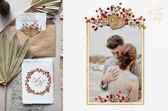 Christmas Gingerbread frames Clipart by svetlanaARTdreams on @creativemarket