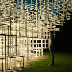 Sou Fujimoto 2013 Serpentine Gallery Pavilion in London's Kensington Gardens