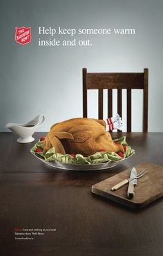SALVATION ARMY: Comfort Food by Mike Campau, via Behance