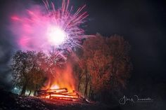 Yesterday bonfire with fireworks Night Photos, My Photos, Labour Day, Bonfire Night, Night Photography, Fireworks, Places To Visit, Plants, Garden