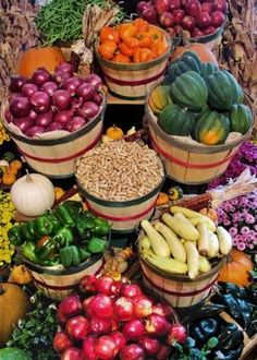 I'm inspired by the farmers markets - to cook and eat all the great things they bring to us every week!