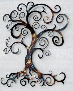 Tree Of Life Wall Decor Wall Art Heat By HumdingerDesignsEtsy